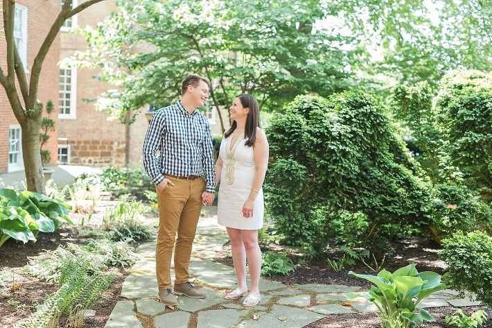 Charles Carroll House engagement session
