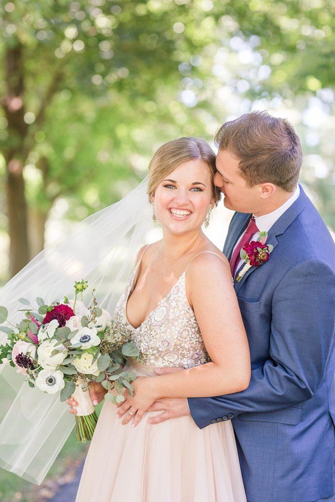 Eagles Nest Country Club Wedding Couples Portrait
