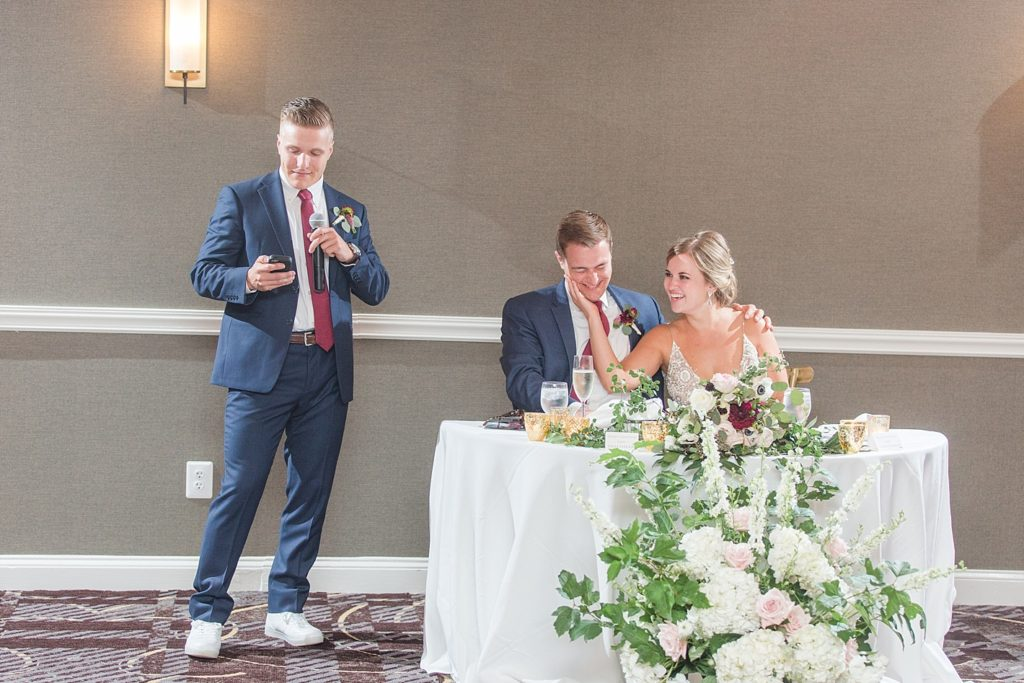 Best Man Speech at Eagles Nest Country Club Wedding