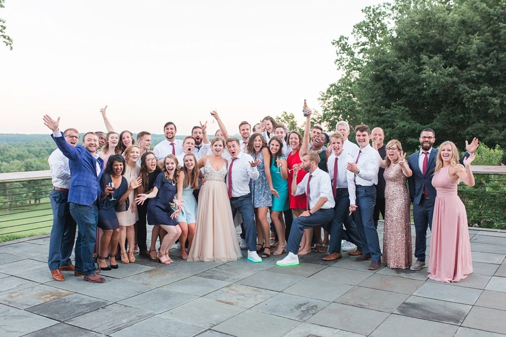Guests at Eagles Nest Country Club Wedding Reception