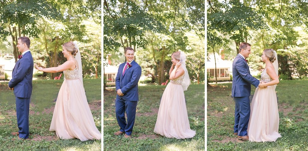 First Glance Sequence Before Eagles Nest Country Club Wedding