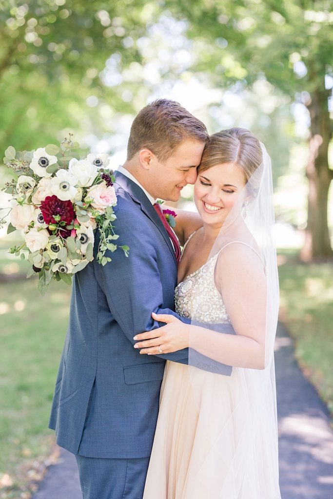 Eagles Nest Country Club Wedding Couples Formal Portrait
