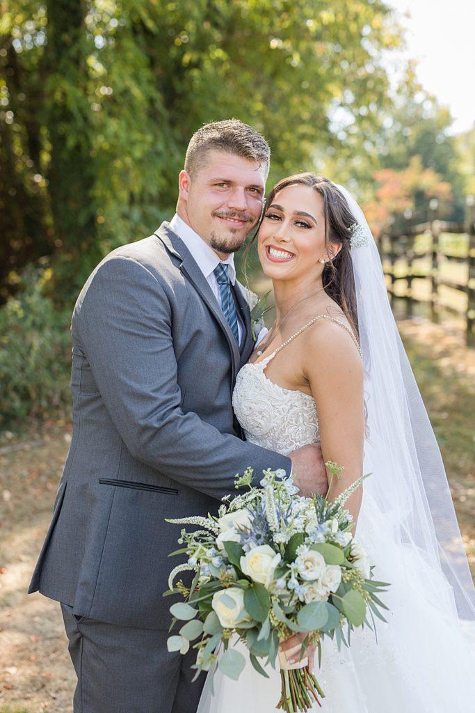 Bohemia Overlook Wedding Couple Portrait