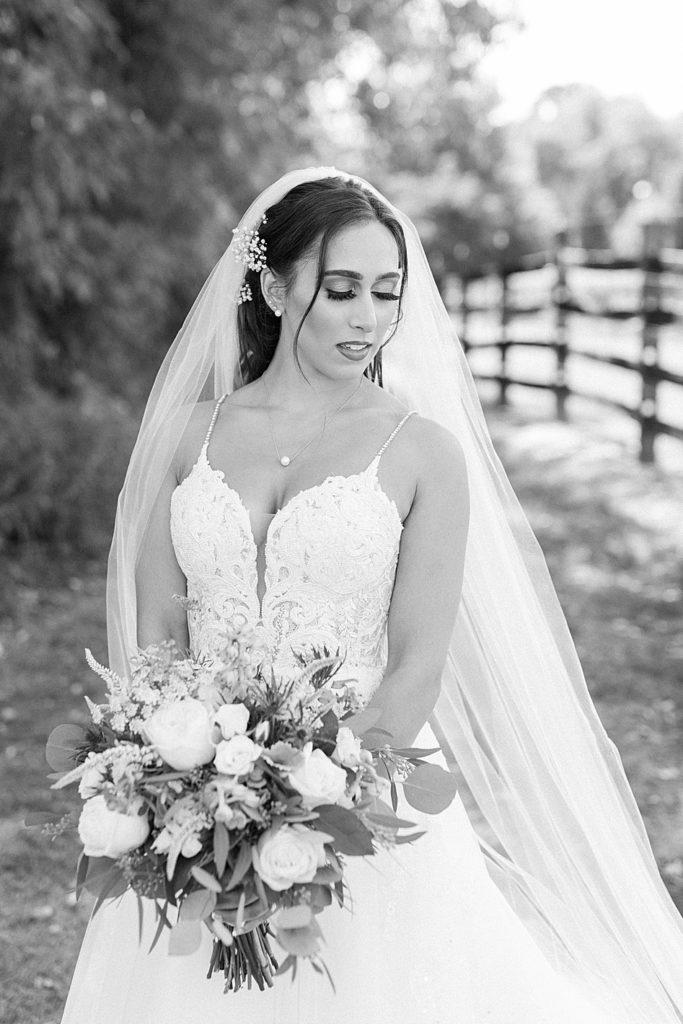 Bride at Bohemia Overlook Wedding Venue
