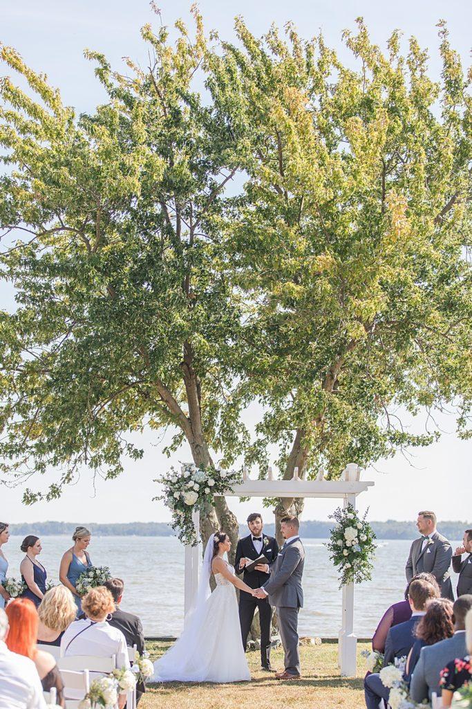 Bohemia Overlook Wedding Ceremony