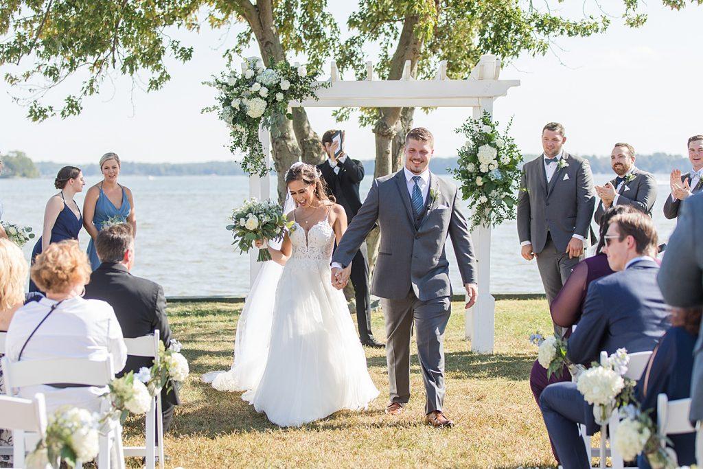 Bohemia Overlook Wedding Recessional