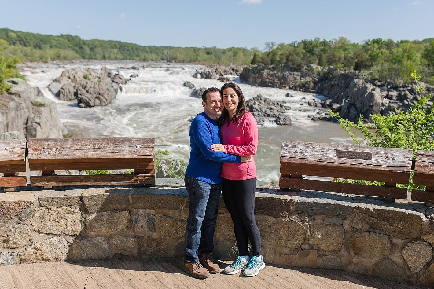 Great Falls Proposal Photography