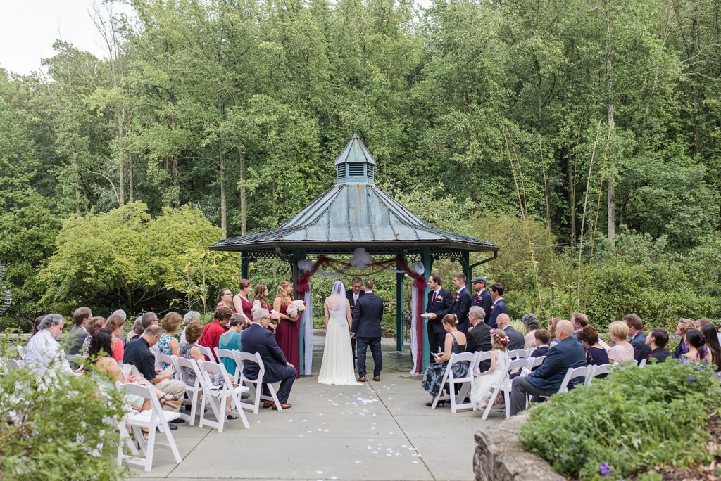 Brookside Garden Wedding Ceremony