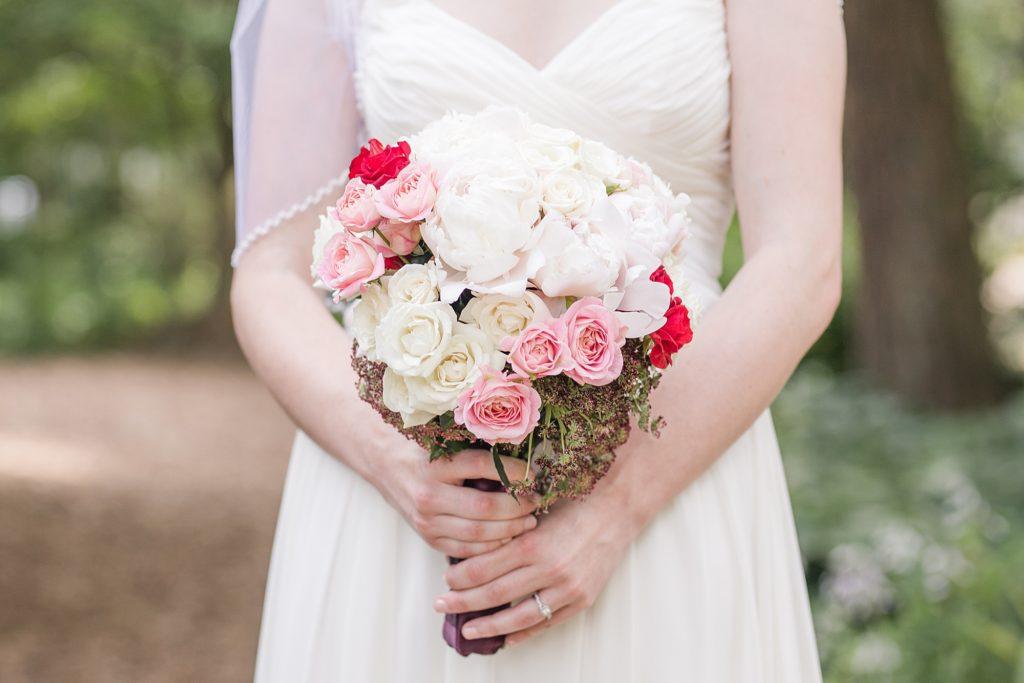 Brookside Garden Wedding Flowers Detail