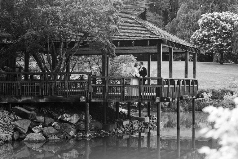 Brookside Garden Wedding at Gazebo