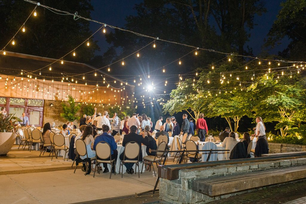 Brookside Garden Wedding at the South Terrace