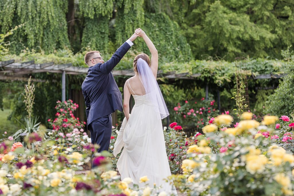 Brookside Gardens Weddings   Rose Garden