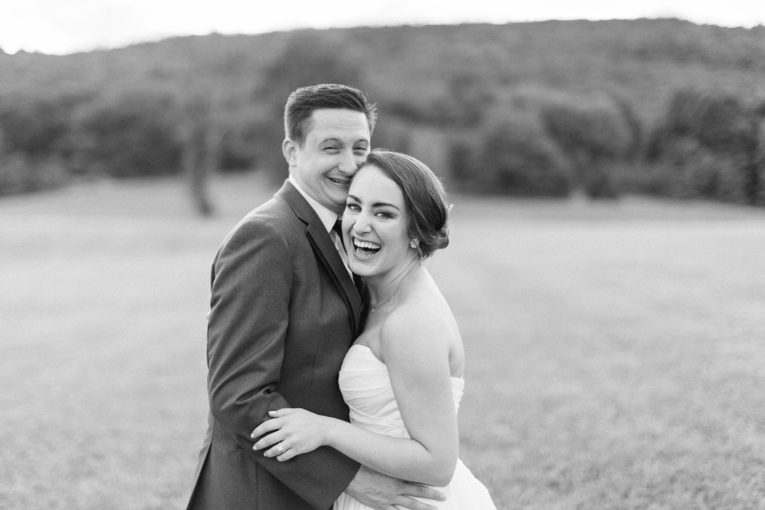 Black and White Baltimore Wedding Photography