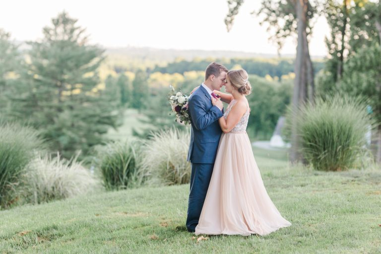 Eagles Nest Country Club Wedding Outdoor Formal Portrait